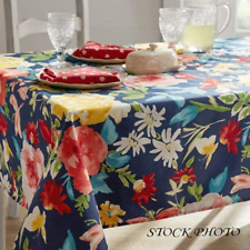 "**NEW** The Pioneer Woman Fiona Floral Tablecloth 52"" x 70"" Rectangle"