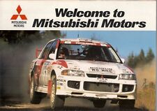Mitsubishi 1996-97 UK Market Brochure Colt Carisma Space Wagon 3000GT Shogun