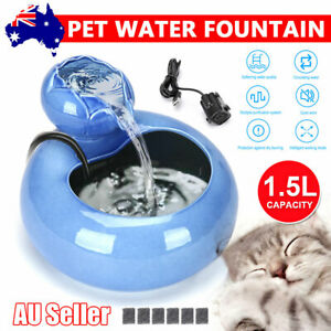 Automatic Dog Water Bottle Cat Drinking 1.5L Fountain Pet Universal Dispenser