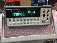 GW Instek GDM-8251A 120000 Counts 5 1/2 digit Dual Display Digital Multimeter