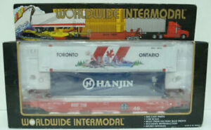 K-Line K7766 BNSF Husky-Stack w/2 Containers LN/Box