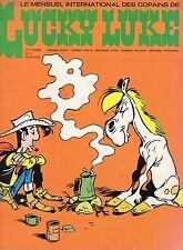 LUCKY LUKE NUMERO 4  SUPER  RARE ANNEE 1974 (SANS LE POSTER CENTRAL)