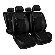 Asiento de coche para referencias peugeot 2008 13-16 negro kit completo ya referencias fundas para asientos