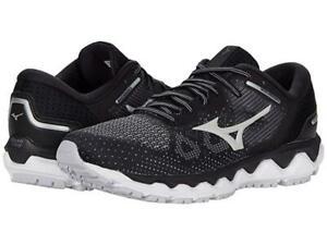 New Men's Mizuno Wave Horizon 5 Running Shoes Size US 10.5 Black 411304