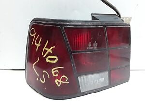 90 91 Hyundai Excel sedan left drivers tail light OEM