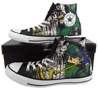 Converse The Riddler DC COMICS Batman Gotham Villain Chuck Taylor 148914C