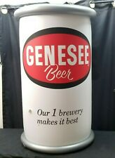 "Large Genesee Inflatable Beer Can 35"" Tall"