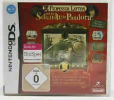 Professor Layton und die Schatulle der Panda * NDS/2DS/3DS  Expressversand in D