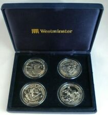 More details for 1994/5 world war ii liberation uncirculated 4 coin set beautifully boxed