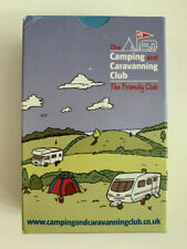 TOP TRUMPS CAMPING AND CARAVANNING CLUB PLAYING CARDS NEW AND SEALED