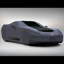 2014+ C7 Corvette Outdoor Car Cover Black w/ Z06 Logo + Storage Bag 23187876