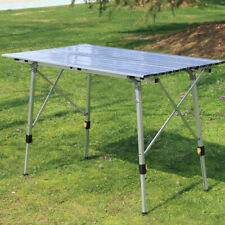 Outdoor Aluminum Folding Table Ultralight Portable Picnic Camping Table USA