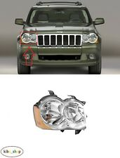 FOR JEEP GRAND CHEROKEE WH 2008 - 2010 NEW FRONT HEADLAMP RIGHT O/S DRIVER LHD