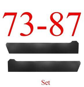 73 87 Chevy Stock Inner Rocker Panel Set, GMC Truck Suburban Blazer 0850-303 L=R