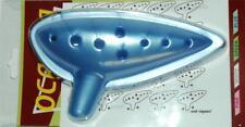 New OCARINA Flute w/ SONG SHEET for LEGEND of ZELDA- Majora's Mask Blue 10 Holes