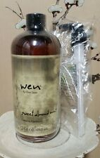 Wen Chaz Dean Sweet Almond Mint Cleansing Conditioner Shampoo 16 Fl Oz with Pump