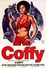COFFY Movie MINI Promo POSTER B William Elliott Sid Haig Pam Grier