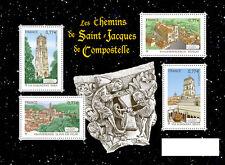 FRANCE 2012..Miniature Sheet F4641 MNH..Les Chemins de St Jacques de Compostelle