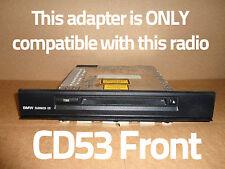 AUX adapter L322 Range Rover Mk III with Quadlock CD53 car radio iPod MP3 input
