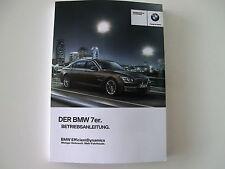 BMW Betriebsanleitung  Deutschland 7er F01 F02 mit LCI  MJ 2013 01402917380
