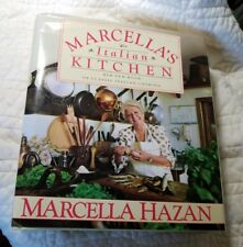 MARCELLA'S ITALIAN KITCHEN: CLASSIC ITALIAN COOKING BY MARCELLA HAZAN HARDCOVER