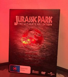 Jurassic Park: The Ultimate Collection 2005 Packaging 4 Discs