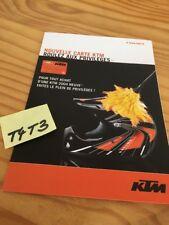 ktm Karte Privileg Client 2004 Prospekt Broschüre Katalog Prospekt Werbung
