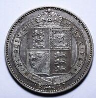 1887 UK One 1 Shilling - Victoria 2nd portrait; 1st type - Lot 357