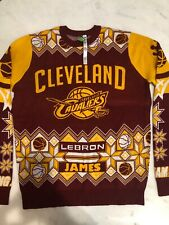 Lebron James Cleveland Cacaliers Ugly Sweater Mens xL