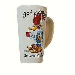 Universal Studios Woody Woodpecker Got Coffee? Mug 1998 Walter Lantz 16oz