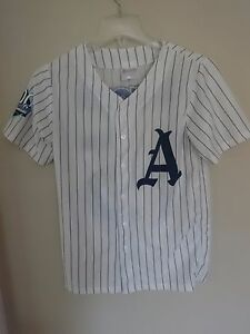 100th Anniversary 1915 MiLB Asheville Tourists SGA Button Front Jersey Youth L