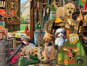 Buffalo Games - Puppy Workshed - 750 Piece Jigsaw Puzzle