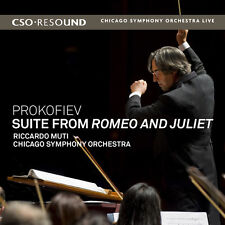 Prokofiev / Muti / C - Suite from Romeo & Juliet [New CD]