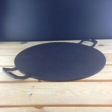 Netherton Foundry Shropshire Made Black Iron 15 inch Griddle and Baking plate