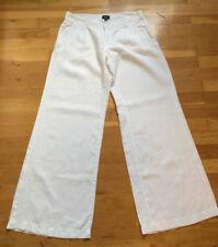 MEXX Schlaghose weiße Baumwolle Gr. 36 Trousers