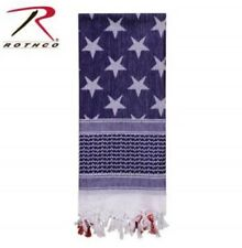 USA Patriotic American Flag Tactical Shemagh Desert Scarf Rothco 88550