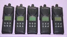 Lot of 5 Motorola XTS3000 Astro Portable Radios Model II 800Mhz - Good Condition
