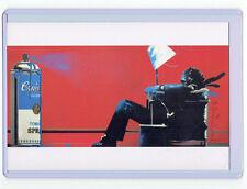 New Mint Mr. Brainwash Maxell Spraycan Postcard Print PopArt Banksy Warhol