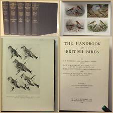 Witherby The Handbook of British Birds EA 5 Bde 1938 Ornithologie Vogelkunde xy