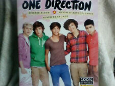 """""""One Direction"""", Sticker Album, Panini 2012, + Pack Stickers, Pull-Out Poster 5"""