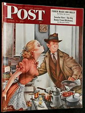 The Saturday Evening Post  April 9, 1949 FIBBER MCGEE AND MOLLY - STAHL - BIGGS