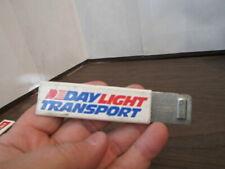 Vintage DAY LIGHT TRANSPORT Box Cutter Knife Advertising Promo Razor