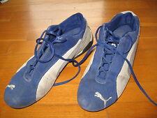 scarpe puma blu tipo per kart/automobilismo tg. 46 usate