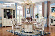 Barock Runder Esstisch Rund Tisch Runde Tische Klassischer Holz Marmor Optik Neu