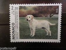 MONACO - 1992 - yvert 1813 - chien Labrador - neuf**