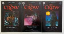 The Crow Dead Time #1 to 3 complete series (Kitchen Sink 1996) FN+ & VF conditio