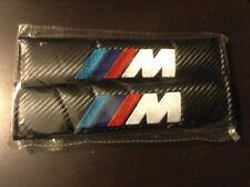 BMW M Series Seat Belt Pads Pair Black