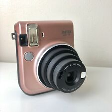 FujiFilm Instax Mini 70 Instant Camera Pink Champagne Polaroid - Fully Working