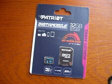Patriot 32GB Mo Class 10 mcirosdhc Memory Card for GoPRO HERO3 HERO5 hero 6 bulk