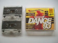 The Best Of Dance 93 - Various Artists - UK Double Cassette Album Telstar VG